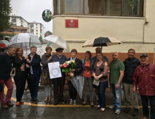 """BPFTA  """"Comete""""  trails/  EPAB  mendi  martxak:  omenaldiak/tributes:  Altzibar  (Oiartzun)  +  Errenteria  +  Aracama  (Gros,  Donostia-San  Sebastián)"""