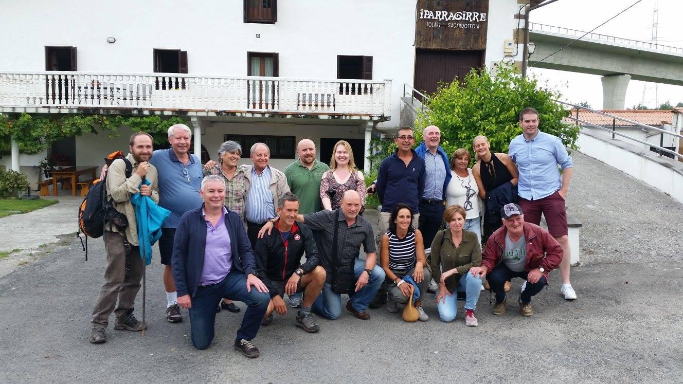 BPFTA/ EPAB: Iparragirre sagardotegia/cider house (Hernani) + DSS